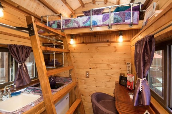 80 Sq Ft Roly Poly Tiny House For Sale 005