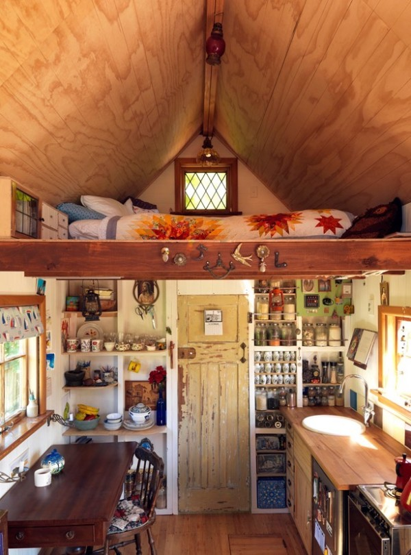 Lily's 150 Sq. Ft. Tiny House on Wheels in New Zealand 003
