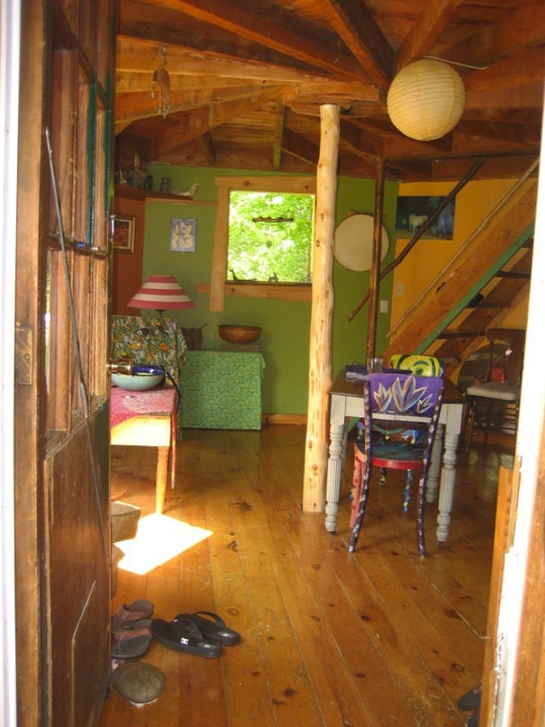 Interior of Small Octagon House