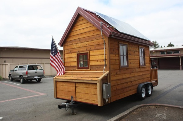 High School Students Build Solar Off Grid Tiny House For Sale